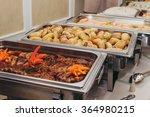 catering eat wedding hotel  | Shutterstock . vector #364980215