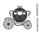 carriage vector icon. | Shutterstock .eps vector #364989422