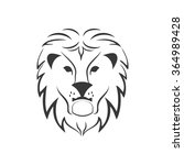 the lion vector icon.   Shutterstock .eps vector #364989428
