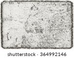 scratched weathered monochrome... | Shutterstock . vector #364992146