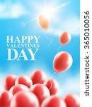 balloons in the sky. vector...   Shutterstock .eps vector #365010056