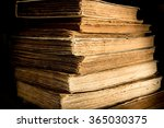 some ancient books on the table.... | Shutterstock . vector #365030375