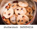Biscuits In A Tin Box With Nut...