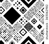 seamless square pattern.... | Shutterstock .eps vector #365062982