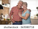 cheerful senior marriage in the ... | Shutterstock . vector #365080718