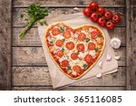 valentines day heart shaped... | Shutterstock . vector #365116085