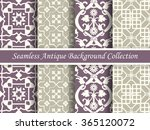 antique seamless background... | Shutterstock .eps vector #365120072