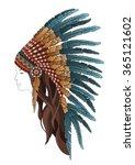 indian girl   Shutterstock .eps vector #365121602