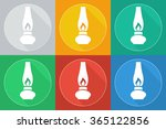 old gas lamp | Shutterstock . vector #365122856