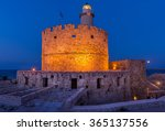 tower and fort of saint... | Shutterstock . vector #365137556