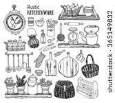 hand drawn vector illustration... | Shutterstock .eps vector #365149832