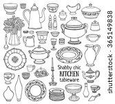 hand drawn vector illustration... | Shutterstock .eps vector #365149838