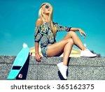 high fashion look.glamor... | Shutterstock . vector #365162375