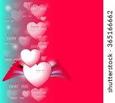 romantic theme vector... | Shutterstock .eps vector #365166662
