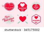 valentine's day. valentine.... | Shutterstock .eps vector #365175002