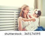 happy loving family. mother and ...   Shutterstock . vector #365176595
