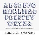 vector hand drawn sketch... | Shutterstock .eps vector #365177855