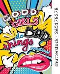 Pop Art Good Girls Do Bad...