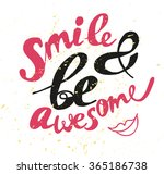 hand written text element.... | Shutterstock . vector #365186738