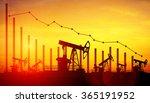 3d illustration of oil pump... | Shutterstock . vector #365191952