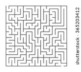 Maze   Labyrinth  Vector...