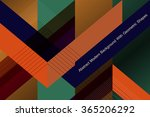 abstract geometric background ... | Shutterstock .eps vector #365206292