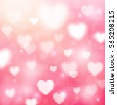 abstract romantic pink... | Shutterstock . vector #365208215