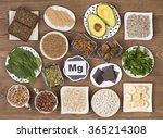 food containing magnesium ... | Shutterstock . vector #365214308