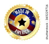 made in america label with us... | Shutterstock .eps vector #365229716