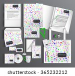 multicolor corporate identity... | Shutterstock .eps vector #365232212