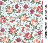 seamless pattern. beautiful... | Shutterstock .eps vector #365236736