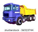 truck   Shutterstock .eps vector #36523744