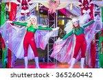 las vegas   dec 18   actors in... | Shutterstock . vector #365260442