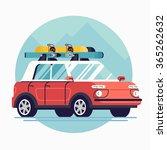cool flat design modern... | Shutterstock .eps vector #365262632