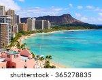 hawaii beach | Shutterstock . vector #365278835