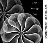 feather wheel presentation | Shutterstock . vector #365288525