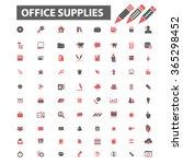 web office  supplies  freelance ... | Shutterstock .eps vector #365298452