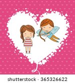 love card design  | Shutterstock .eps vector #365326622