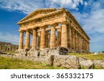 temple of hera at famous... | Shutterstock . vector #365332175