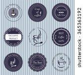 stock vector set of label for... | Shutterstock .eps vector #365363192