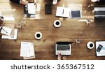 business people meeting...   Shutterstock . vector #365367512