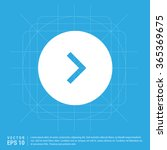 vector next icon | Shutterstock .eps vector #365369675