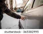 opening car door  | Shutterstock . vector #365382995