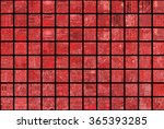 bright abstract mosaic red... | Shutterstock . vector #365393285