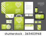 colorful corporate identity... | Shutterstock .eps vector #365403968