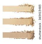 Three Shades Of Makeup Powder...