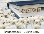 Small photo of Wooden Blocks with the text Advice
