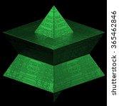 3d render of geometric platonic ...