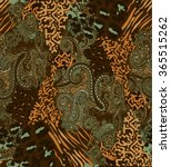 The Paisley Seamless Ornament...