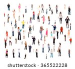 many colleagues united company  | Shutterstock . vector #365522228